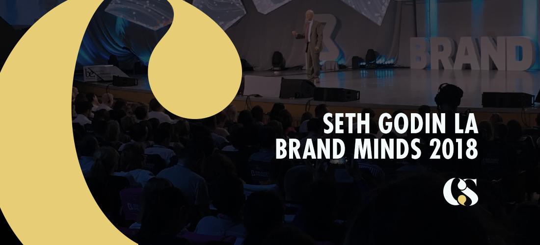 """Seth Godin la Brand Minds 2018: """"Am creat produse medii pentru oameni medii pentru prea mult timp"""""""